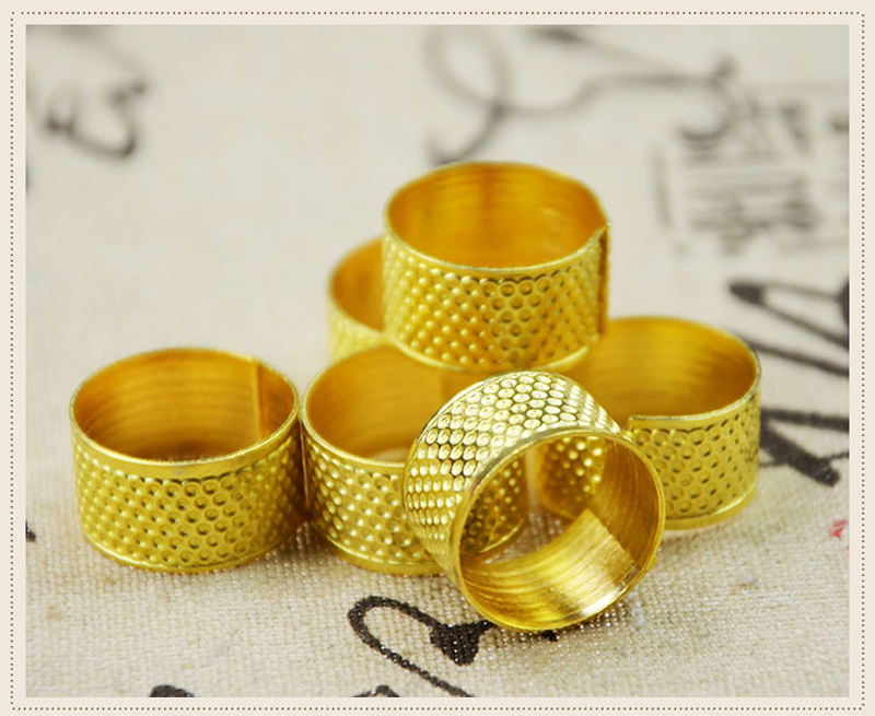 CrossStitch Sewing DIY tools household copper thimble thimble Gold thimble with a home essential to mend(China (Mainland))