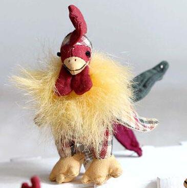 10pcs Turkey Stuffed Animal Plush Toy 7-10cm for Harvest festival home decoration Thanksgiving day(China (Mainland))