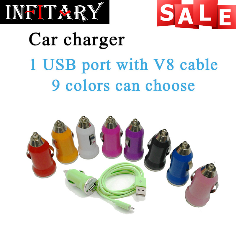 Mini USB Car Charger Data Sync Charging micro usb Cable for Samsung Galaxy S2 S3 S4 for Sony for Motorola Charging mobile phone(China (Mainland))