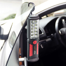 Car repair LED work lights on the emergency light of the car magnets 360 degrees outdoor