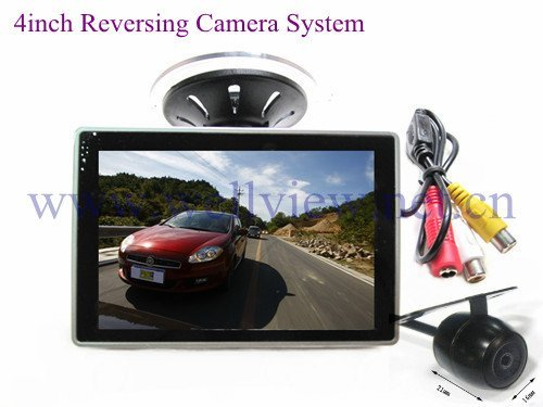 Rearview Parking Car Camera Kit with 4inch Monitor and Mini Camera