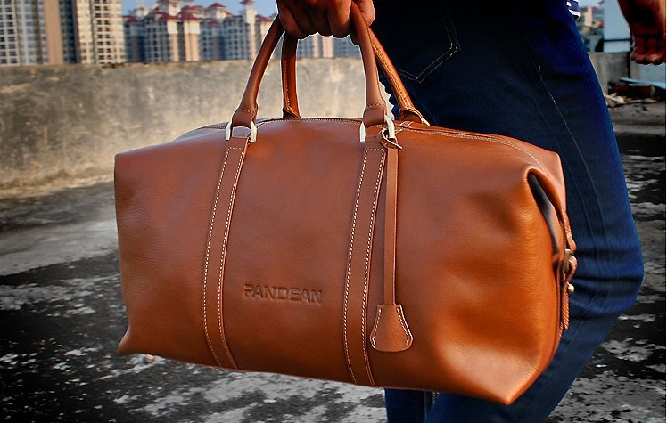 large capacity genunie leather cowhide travel duffel bags,Men's Business Bag Fashion Men Shoulder Bags Travel Package(China (Mainland))