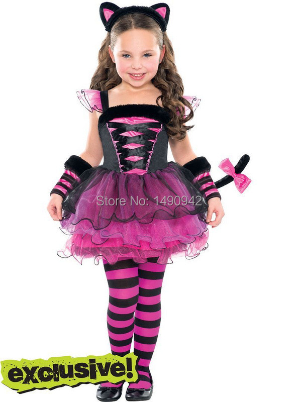 2015 New Arrival Children wear girls kids dress + Render pants + hair clasp fashion Catwoman suit baby Christmas clothes(China (Mainland))