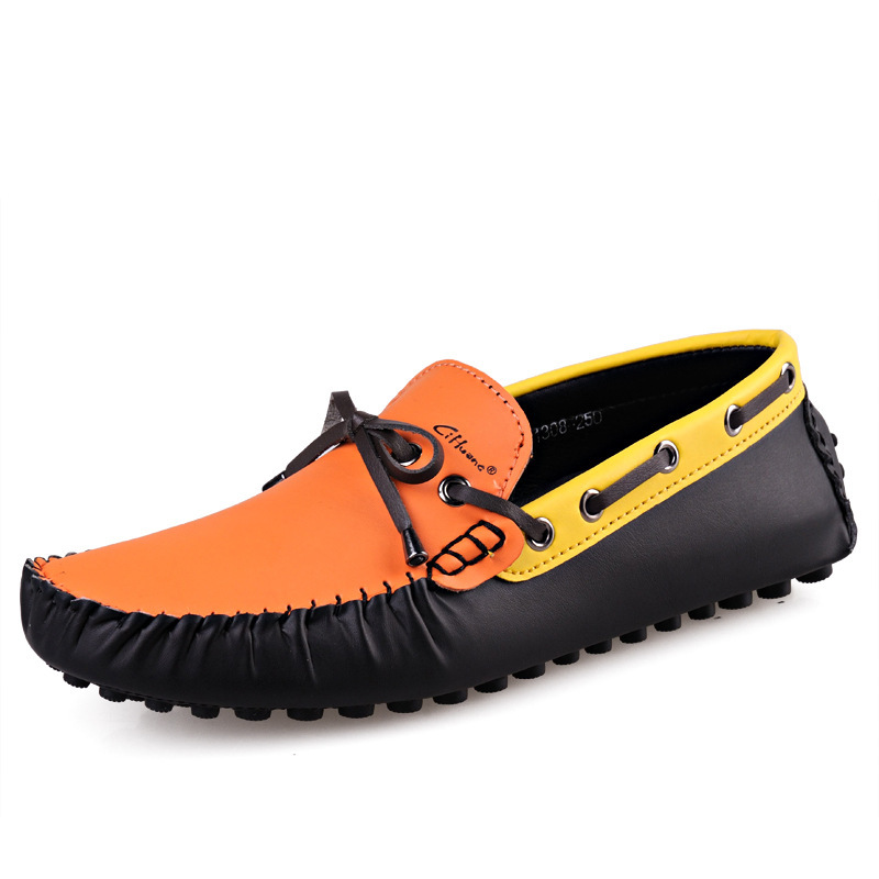 2015 new fashion design popular shoes flat driving