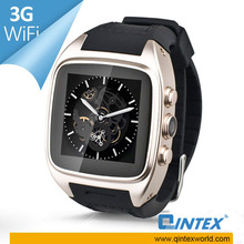 WiFi 3G Smart Watch Phone Cell Phone Waterproof Android 4.4 System Wristwatch Touch Screen Smart Watch Dual Core