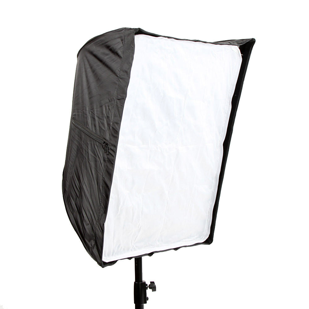 50 * 70cm/19.7 * 27.6in Square Cube Softbox Reflector Tent Umbrella Studio Photography Carbon Fiber Bracket with Honeycomb Grid(China (Mainland))