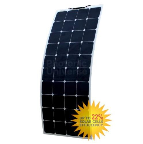 120W Sail boat back contact flexible solar panel with high efficiency sunpower cells.(China (Mainland))