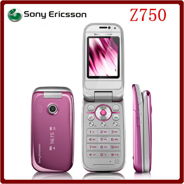 Z750 Original Unlocked Sony Ericsson Z750 3G Bluetooth Support Russian & Arabic keyboard Mobile phone One Year Warranty(China (Mainland))
