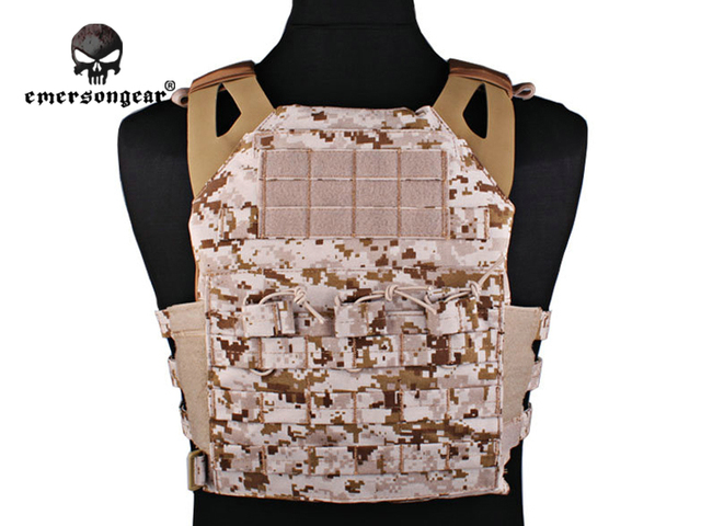 Emersongear JPC Vest Jumper carrier simplified version Tactical Airsoft Military Combat Gear 7344D Desert Digital Emerson