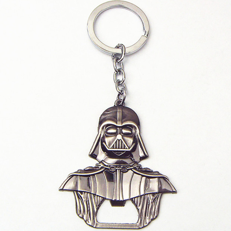 New style star wars darth vader keychain bottle opener keyring Alloy metal figure black series key chain ring porte clef for fan<br><br>Aliexpress