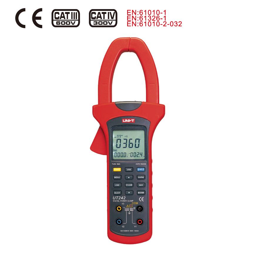 Здесь можно купить  Uni Clamp harmonic power meter UT242 999 sets of data storage, phase sequence detection function genuine Uni Clamp harmonic power meter UT242 999 sets of data storage, phase sequence detection function genuine Аппаратные средства