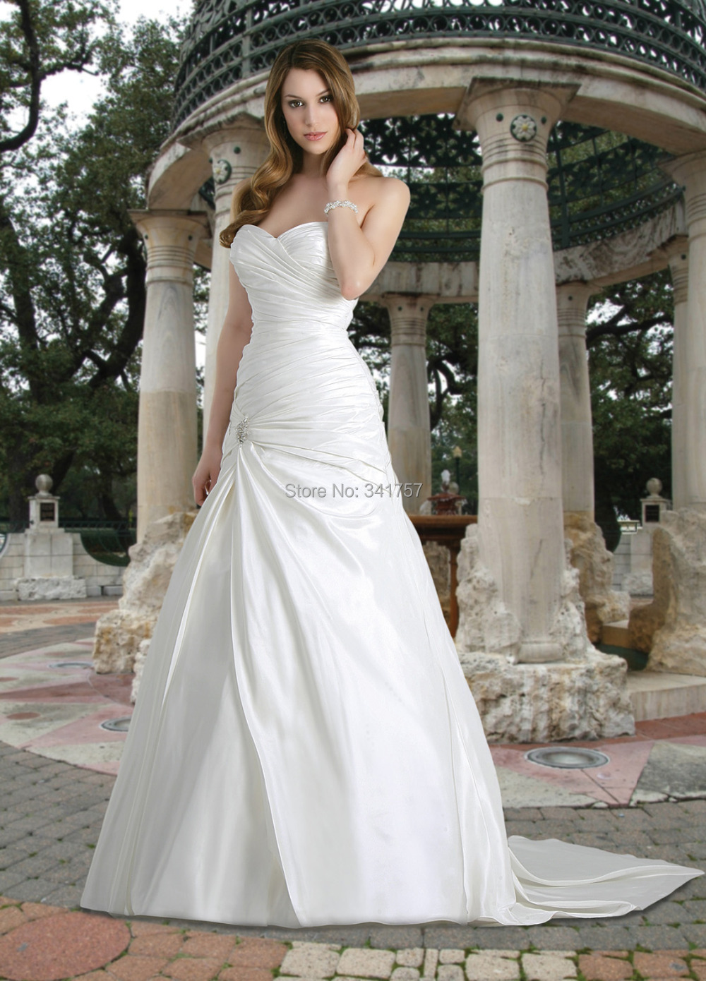 Cheap A Line Wedding Dresses 003 - Cheap A Line Wedding Dresses