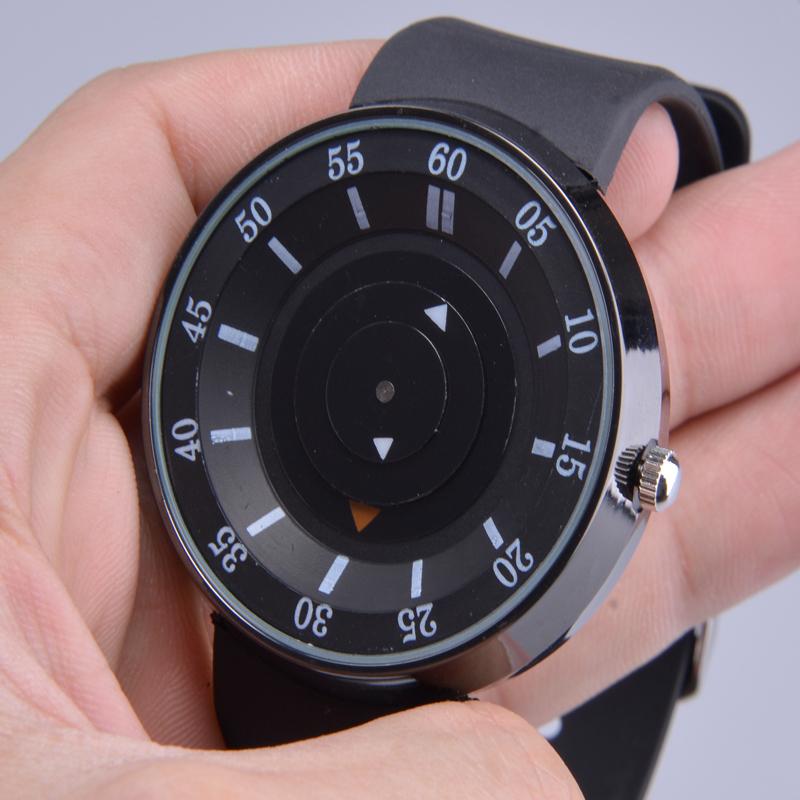 Evecico краткое круг ремень многофункциональный указатель кварцевые часы водонепроницаемые часы коммерческий