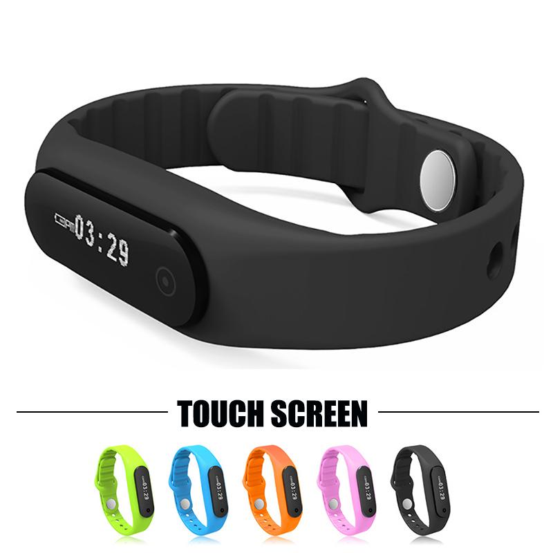 100% Original Touch Screen Smart Bracelet Fitness Tracker Wristband Smartband Pedometer Bluetooth 4.0 For Android 4.3 IOS 7.0(China (Mainland))