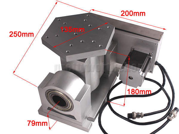 Buy Cnc Rotary Table A Axis Stepper Motor