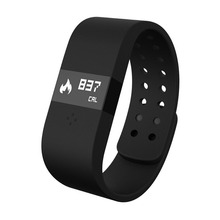 Digicare ERI Smartband Sports Bluetooth Bracelet ERI Wristband Smartband LED Touch Screen BT4.0Anti-lost Thermometer Heart Rate