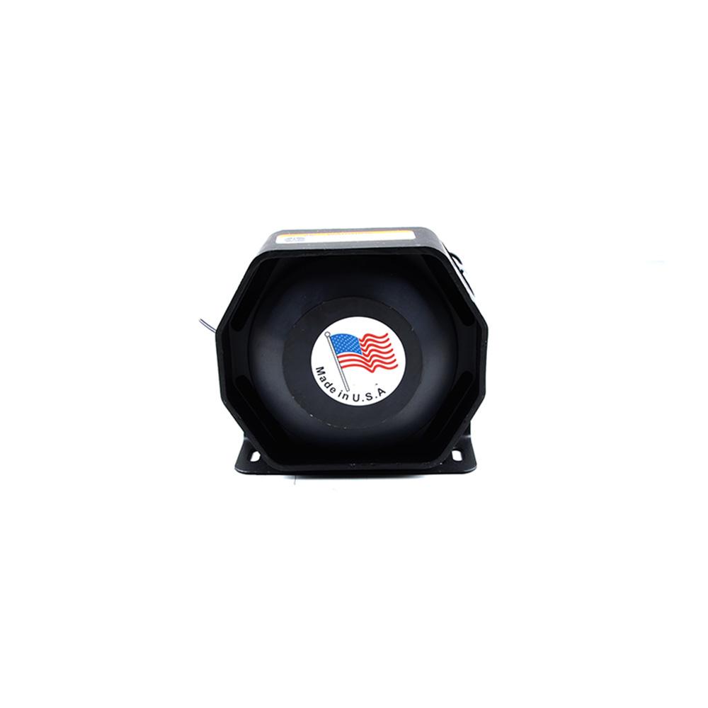 200W 12V Ultra Slim Car Alarm Siren Horn Metal Loudspeaker Horn Siren Police Car Megaphone Loudspeaker Electronic Horn Buzzer<br><br>Aliexpress