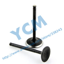 Engine Valve GY6 150CC Inlet Valve Exhaust Outlet Valve Scooter Engine parts Mope Wholesale YCM QM-GY150