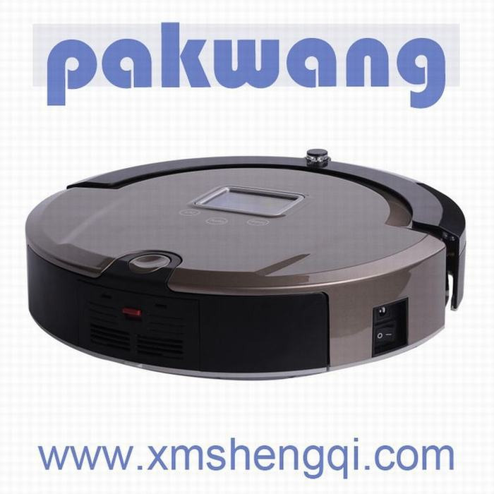 Intelligent Robot Vacuum Cleaner with 3-D Detector Slim Rechargeable Household Cleaning Mop Sweeper(China (Mainland))