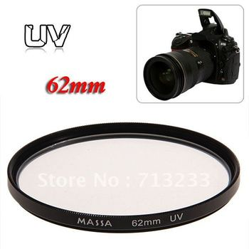 High Quality Super Slim Wide Band Protector Optical Glass 62mm UV Filter