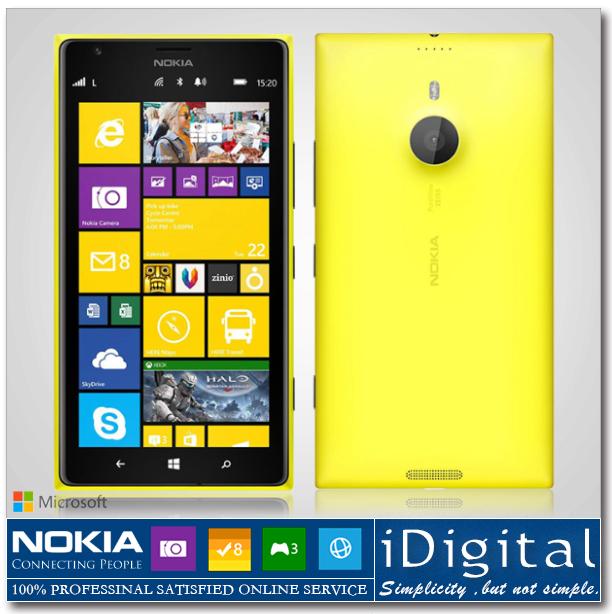 "Original Nokia Lumia 1520 Unlocked Windows Phone 16GB Quad Core 2.2GHz 2GB RAM 6.0""IPS 1080P 20MP NFC GPS WIFI 3G Smartphone(China (Mainland))"