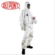 Dupont Tyvek Protective Clothing Coverall 1422A Disposable Antistatic and non-linting work clothes One Piece against dust/splash(China (Mainland))