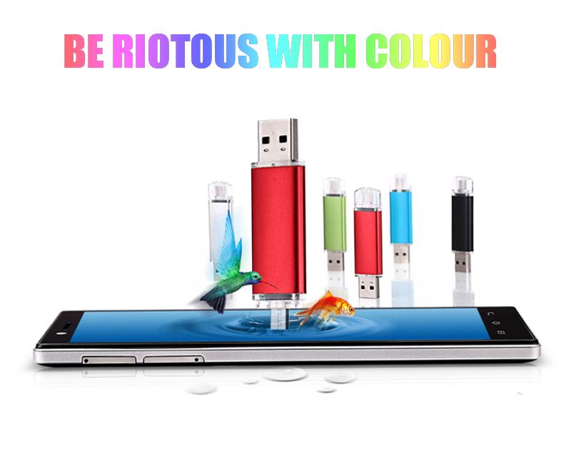 100% Real capacity pen drive OTG Smart Phone Tablet PC 32gb usb 2.0 flash drive external storage 4gb usb stick 16gb Pendrive 8gb(China (Mainland))