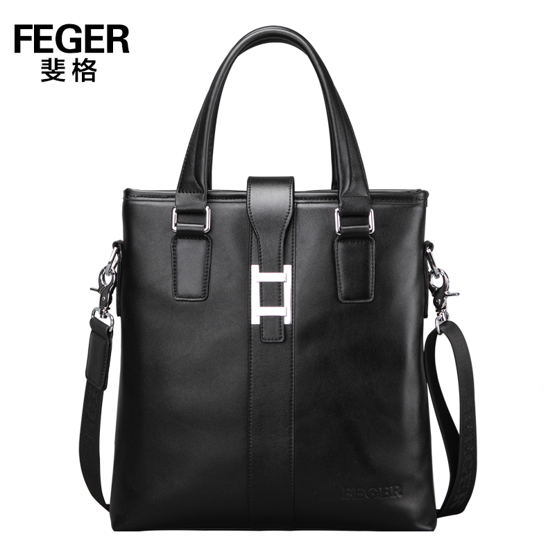 new arrival fashion genuine leather men shoulder bags, brand design man leather messenger bag ,male cowhide business bag(China (Mainland))