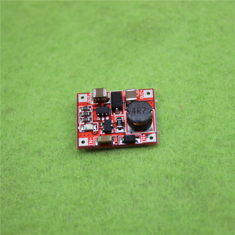 DC - DC booster module highest efficiency 96% 3V Raise 5V1A boost board Mini circuit mobile phone(China (Mainland))