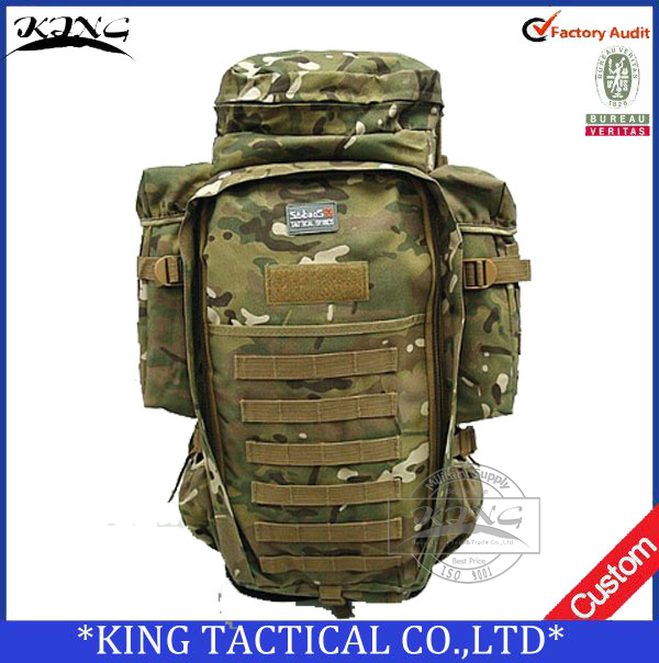 Outdoor military tactical backpack mountaineering bag waterproof 35l travel hiking
