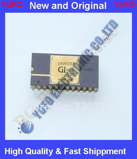 Free Shipping 1 x ER2810IR 8192 Bit Electrically Alterable Read Only General I CDIP-24 1pcs(China (Mainland))