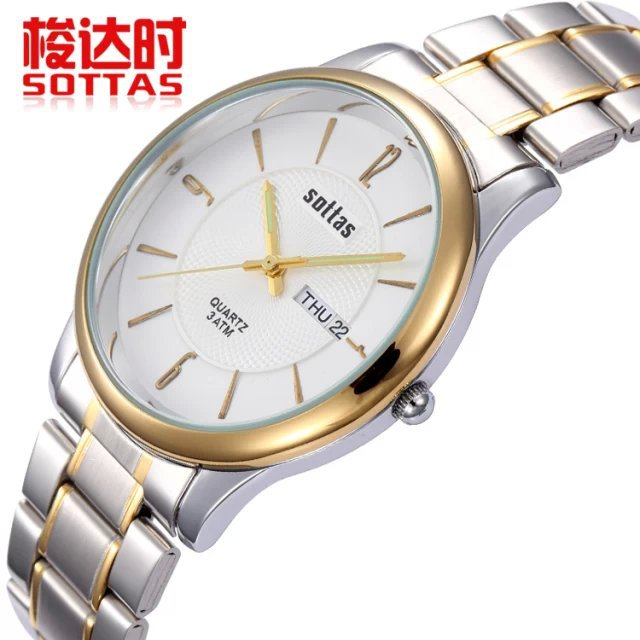 2014 new Men business watches fashion casual quartz watch Hot calendar wristwatches 3 ATM Water Resistant Top brand Sottas 5041<br><br>Aliexpress