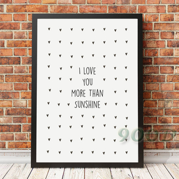 Love Quote Canvas Art Print Painting Poster, Wall Pictures For Home Decoration, Giclee Print Wall Decor 160