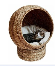 cozy natural banana leaf cat cave , pet product cat toy cat tree cat furniture wholesale(China (Mainland))