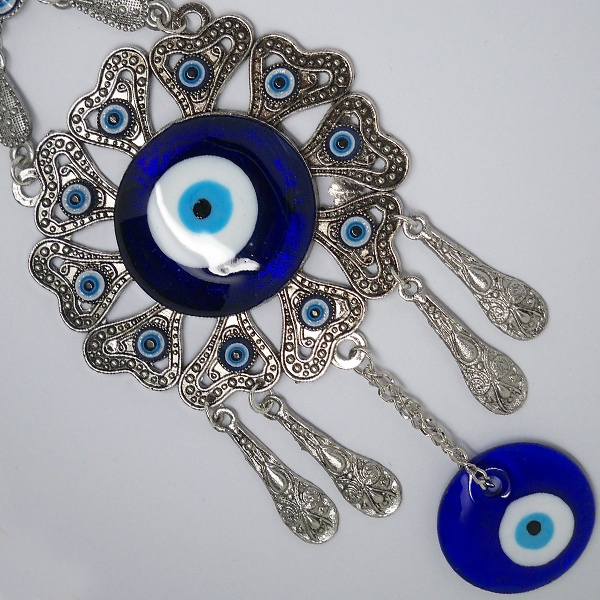 W22 Free Shipping Blessing Evil Eye Pendant Islam Home Wall Hanging/Car Hanging Amulet Ornament Muslim Art()