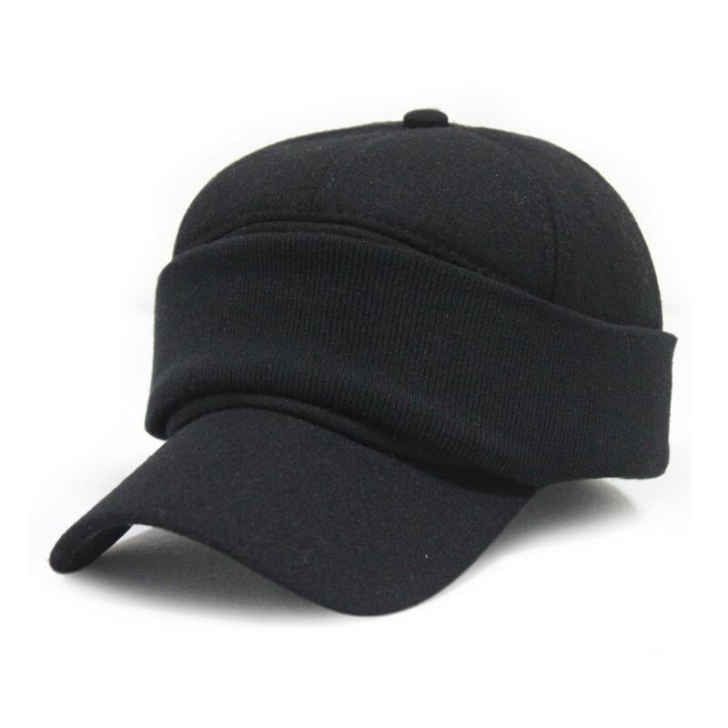winter warm baseball cap ear protection caps