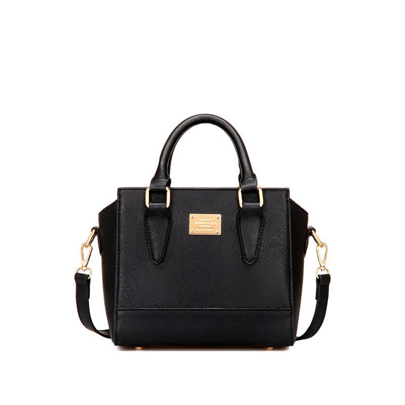 Exquisite Simple Designer Handbag 2016 New Ladies Small Plain Shoulder Bag Solid Color Fashion Ladylike Crossbody Bag
