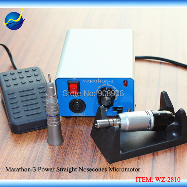 35000 rpm AGD M33Es Straightcone Head Electricity Motors + Marathon-3 Mini Polisher Micromotor for Laboratory, Industry(China (Mainland))