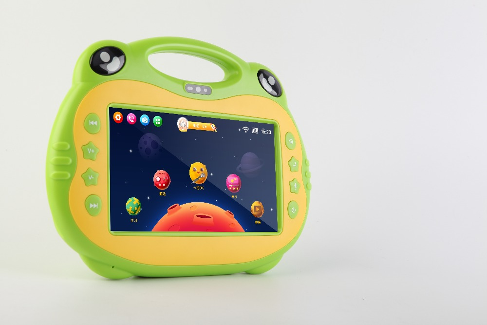 Android Kids Karaoke Machine 7 inch tablet with 2 Microphones Karaoke Music Play Set learning and game tablet As Christmas Gift(China (Mainland))