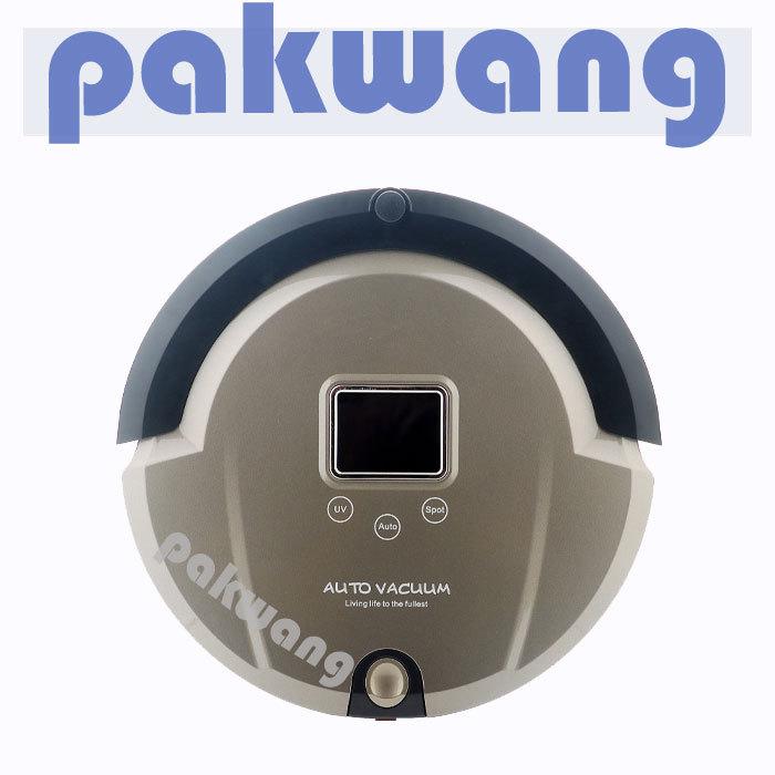 Multifunction Intelligent Home Robot Mini Vacuum Cleaner Sweep Vacuum Mop Sterilize AmTidy A325 LCD ,floor tile(China (Mainland))