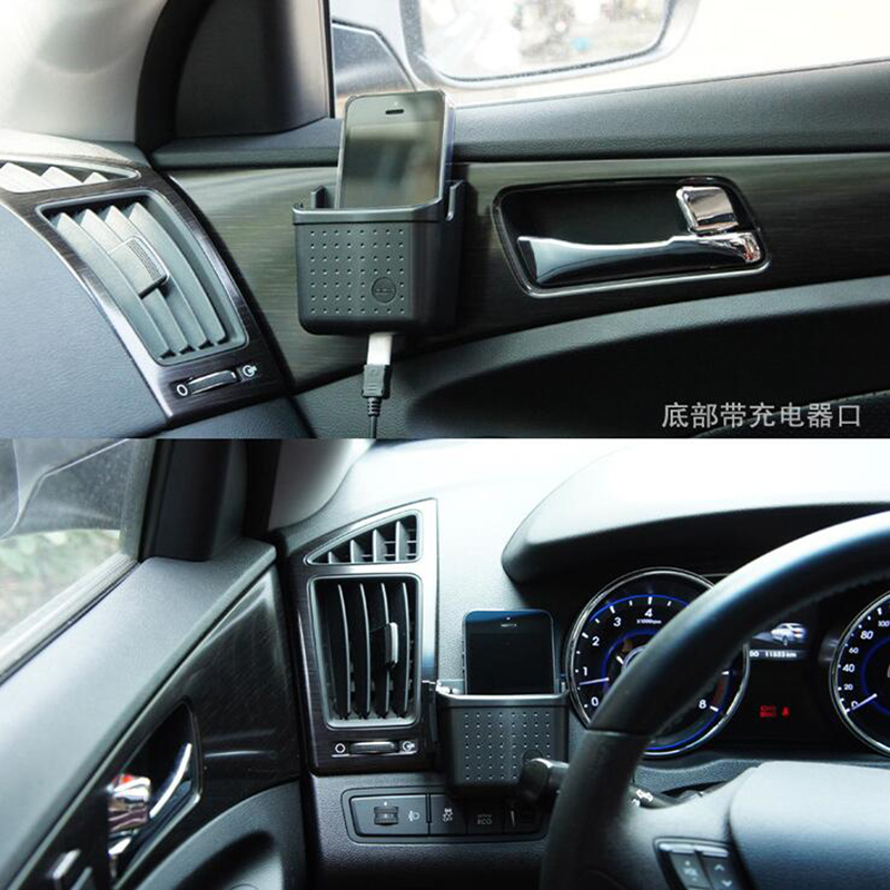 Car Storage Mobile Phone Holder Bluetooth Pylons Box for dodgo charger challenger dart viper journey durango(China (Mainland))