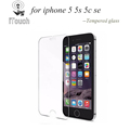 Ultra Thin 0 26mm Premium Tempered Glass Screen Protector for iPhone 5 5s 5c SE Toughened