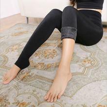 Women's Clothing Candy Colors Women Pants Plus Velvet Thick Warm Leggings Ladies Pants For Winter Super Elastic Women Leggings(China (Mainland))