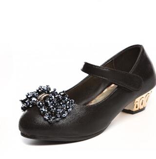 Hot sale princess single shoes fashion style children shoes girls shoes classic comfort children single shoes(China (Mainland))