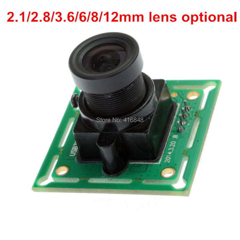 32*32mm 640X480 VGA usb camera module MJPEG 60fps/30fps UVC OV7725 CMOS video camera board with 2.8mm lens(China (Mainland))