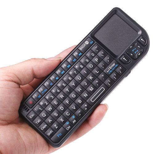 2.4g mini draadloos toetsenbord touchpad backlight voor smart tv samsung lg panasonic toshiba in