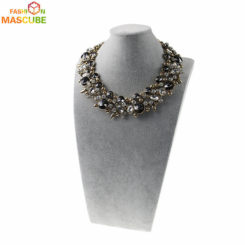 [MASCUBE FASHION]Necklace& Jewelry New Accessories Necklaces For Women 2016 Resin Imitation Pearl Choker corrente masculina(China (Mainland))