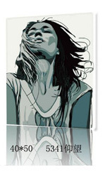 2015 Framed DIY Coloring by Numbers Digital Oil Painting Wall Art Canvas Pattern Home Decor Gray Tone Scream 5341 40*50cm(China (Mainland))