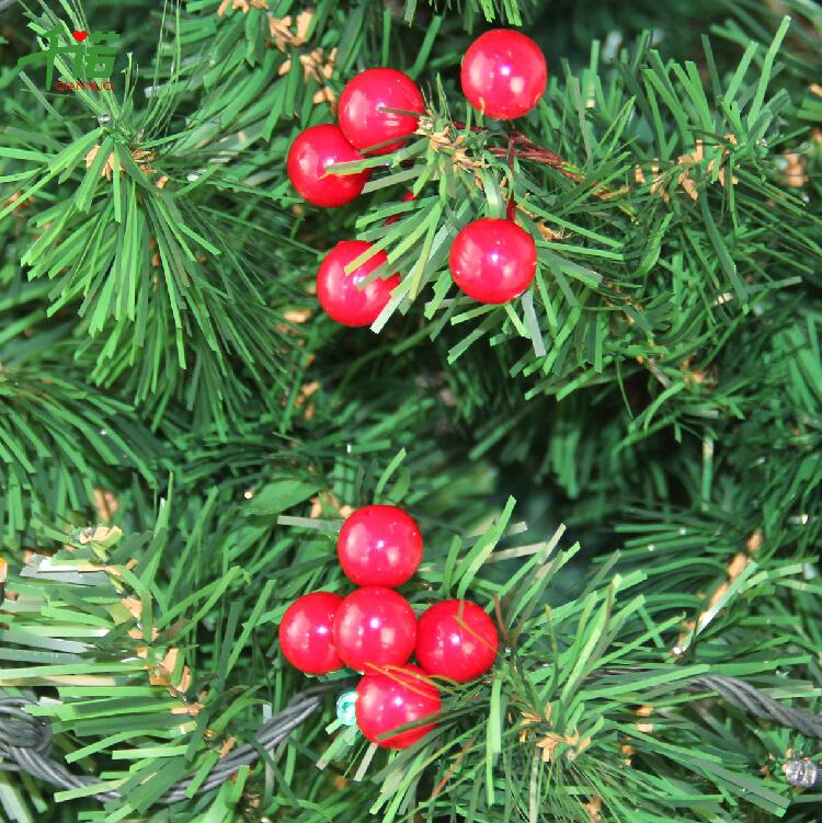 (100 pcs/bag)Small red foam cherry Christmas tree decoration - Lisa's Arts&Crafts store