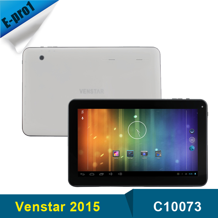 Venstar Brand Android Tablet 10 1 inch RK33026 Dual Core 5 0 2 0 MP Camera